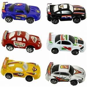 Petite Voiture Enfant : set jouet enfant coffret tube 6 petite voiture course ~ Melissatoandfro.com Idées de Décoration