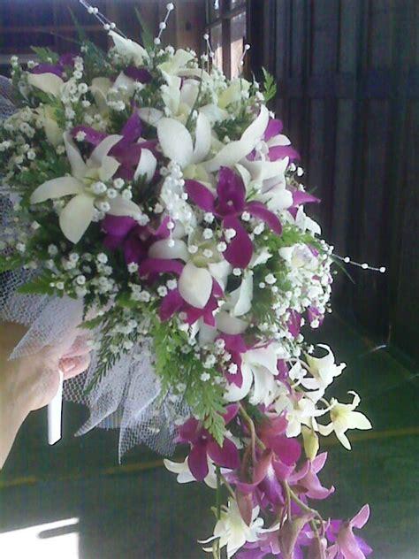 Premium Flowers The Cascade Wedding Bouquet