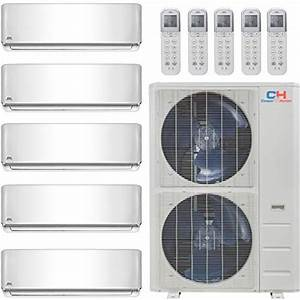 Cooper And Hunter Five 5 Zone Mini Split Ductless Air