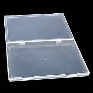tinksky a4 clear plastic paper file box document storage With plastic document storage boxes