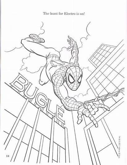 Spider Coloring Amazing Pages Spiderman 2099 Comics