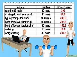 Kalorienverbrauch Genau Berechnen : die verbrauchten kalorien pro tag berechnen wikihow ~ Themetempest.com Abrechnung