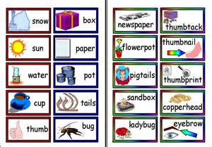 Compound Word List