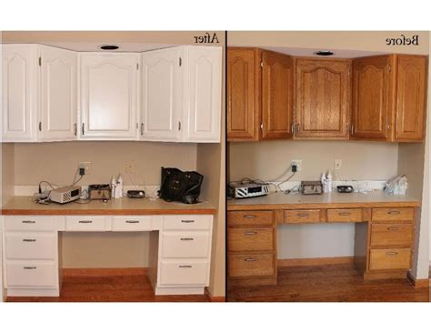 refinishing oak kitchen cabinets before and after photos of before and after refinished kitchen cabinets