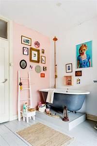 inspiration je veux une salle de bain rose madame decore With je decore salle de bain