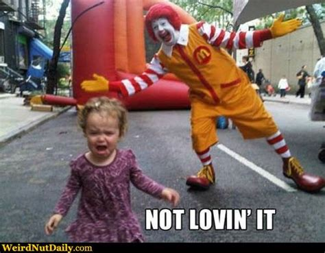 Running Baby Meme - funny pictures weirdnutdaily not lovin it
