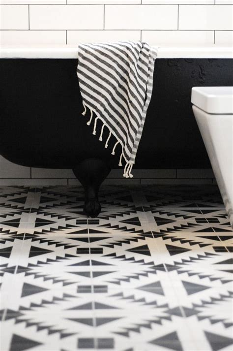 black and white floor l 40 black and white bathroom floor tile ideas and pictures