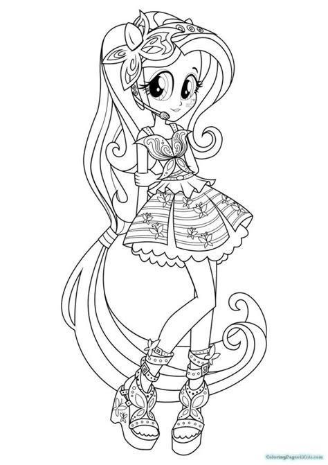 excellent picture  equestria girls coloring pages entitlementtrapcom   pony