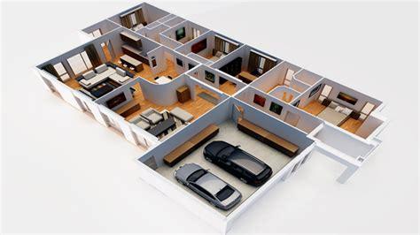 dessiner une chambre en 3d interieur maison en perspective