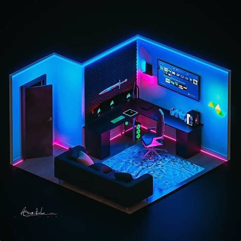 awesome gaming and chill room dm this to someone who wo