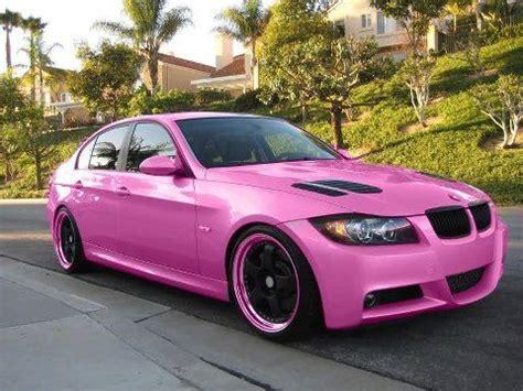 pink bmw  pink car tuning  girls fav images