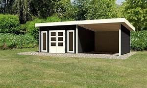Gartenhaus Grau Mit Anbau : konifera gartenhaus rosenheim 5 gesamtma bxt ~ Articles-book.com Haus und Dekorationen