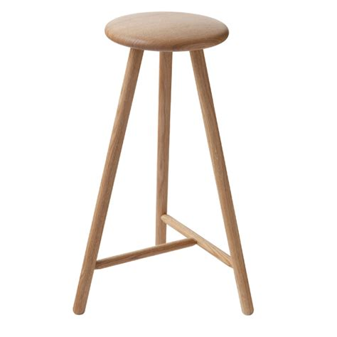 oak counter stool nikari perch bar stool 63 cm oak design shop 1131
