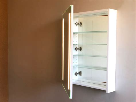 Lighted Bathroom Cabinets by Cabinet Bathroom Lighted Mirror Vanity Make Up Mirror