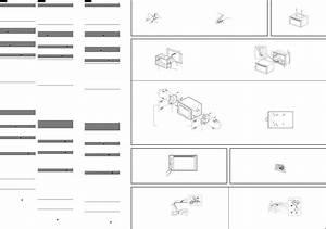 Sony Xav 68bt Installation Connections Manual