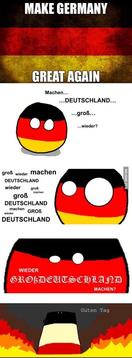 Germany Meme - make germany great again reich countryballs pinterest memes humor and comic