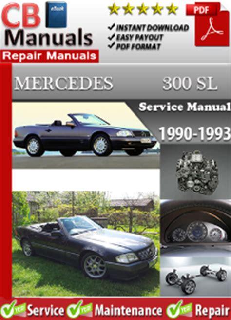 free download parts manuals 1993 mercedes benz 500sl user handbook mercedes 300sl 1990 1993 service repair manual ebooks automotive