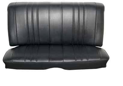 seat upholstery imported  chevy ii nova custom