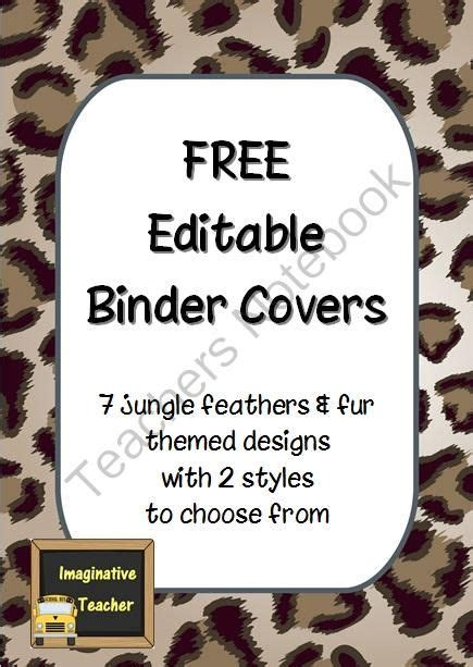 editable binder cover templates best photos of free binder cover templates binder cover templates student