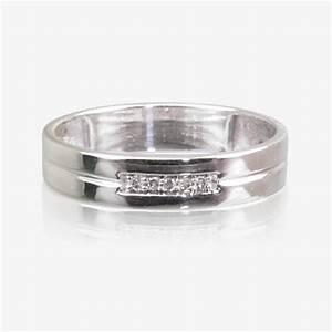 9ct white gold diamond ladies wedding ring 4mm With 9ct wedding rings