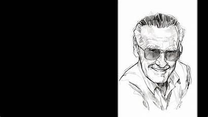 Stan Lee Wallhaven Cc Portrait Comics Drawing