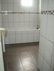 le carrelage est termine notre projet maison phenix With carrelage et faience salle de bain