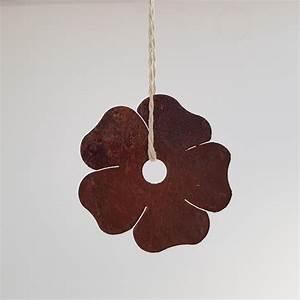 Pflanzen Zum Aufhängen : edelrost blume dekoration rost garten hibiscus dekoration ~ Michelbontemps.com Haus und Dekorationen