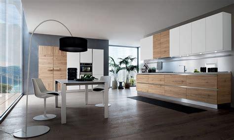 cuisine moderne blanche et bois le bois chez vous