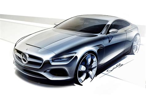 video mercedes concept  class coupe previewed