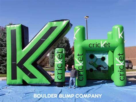 inflatables advertising   trade show boulder blimp