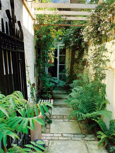 landscaping narrow spaces landscaping ideas for skinny yards and garden spaces hgtv