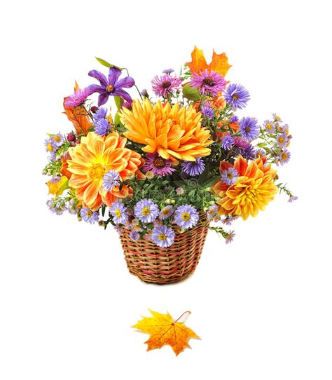 Bouquet Des Fleurs D'automne Photo Stock