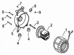 Generator Diagram  U0026 Parts List For Model Apg3004a All