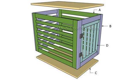 diy dog crate plans  plans   pups custom kennel