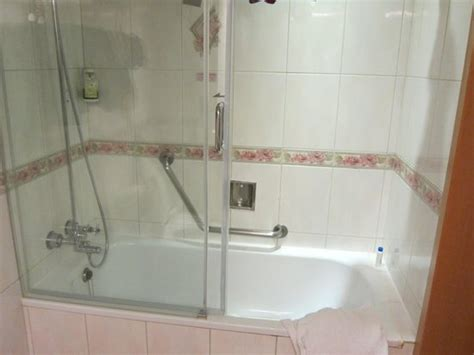 large tub shower combo large tub shower combo picture of cosmos hotel taipei 6821