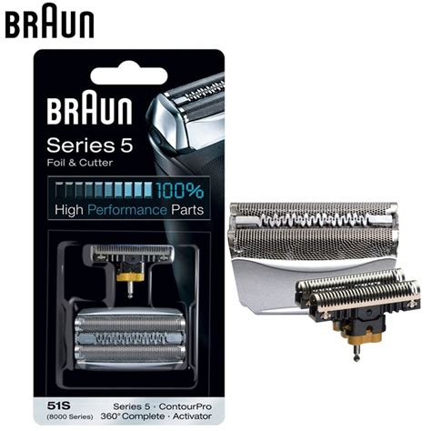 braun razor foil cutter replacement series electric shavers