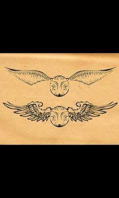 golden snitch harry potter tattoo tattoooo snitch