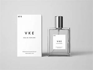 Creative Cosmetic Packaging Design Perfume Bottle Package Mockup Psd On Behance