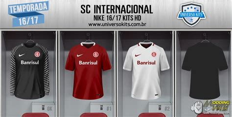 SC INTERNACIONAL NIKE 16/17 KITS HD - FIFA 15 at ModdingWay