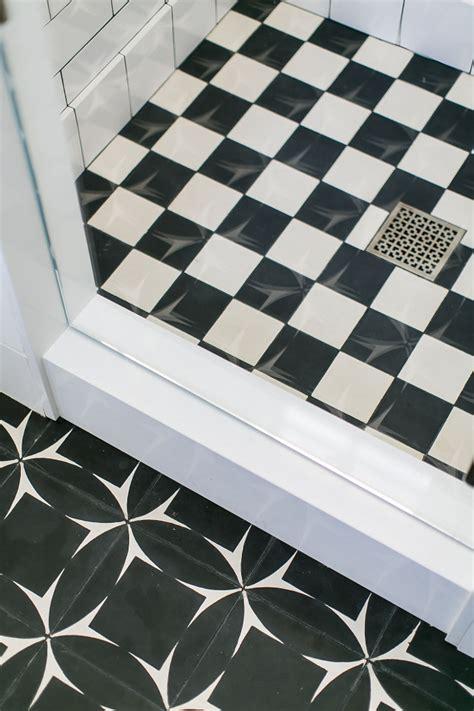 black and white cement tile modern cape cod home design home bunch interior design ideas