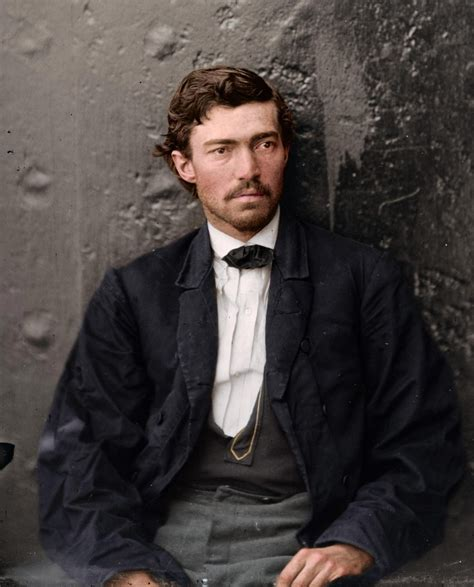 fascinating colorized photos of men involved in abraham lincoln assassination emerge vintage