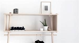 Design Kleiderständer Holz : kleiderst nder t jbox von woud i holzdesignpur ~ Michelbontemps.com Haus und Dekorationen