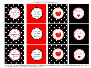 Teacher Appreciation Printables Free