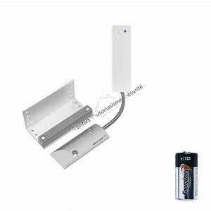 detecteur d39ouverture porte de garage 135 pour systeme d With alarme porte de garage