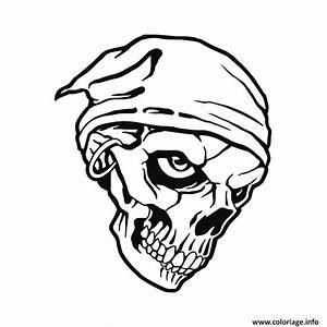 Tete De Mort Mexicaine Dessin : coloriage tete de mort pirate dessin ~ Melissatoandfro.com Idées de Décoration