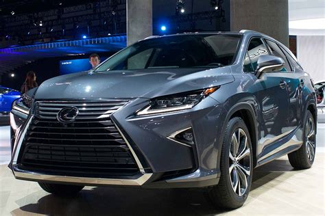 2018 Lexus Rxl Coming To 2017 L.a