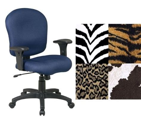 office sc66 zebra animal print adjustable office desk