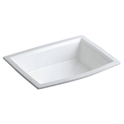 bathroom sink drain home depot sterling wescott under mounted vitreous china bathroom