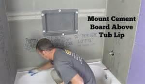 tile around bathtub lip best image webproxp com