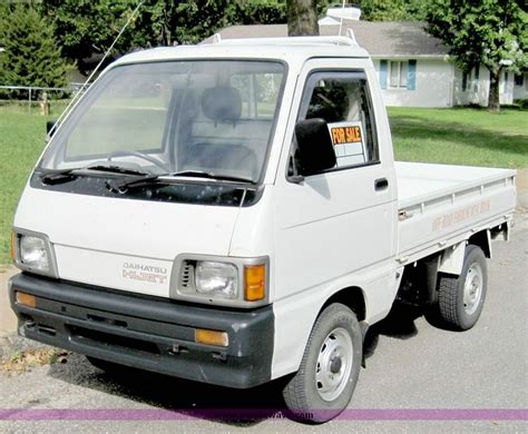 Hijet Mini Truck by 1992 Daihatsu Hijet 583p Mini Truck Item 4566 Sold